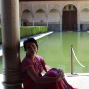 Generalife w Alhambrze..
