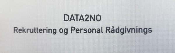 data2NO