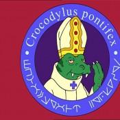 kosmiczny  papież jaszczur