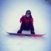 Snowboard'owo :D