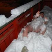 zimowa kąpiel