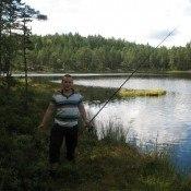 Norwegia- dzikie jezioro