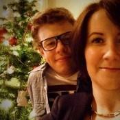 Świątecznie z narzeczonym :):* with my fiance :***