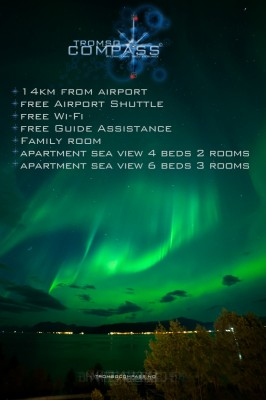 Tromso Compass North Kvaloya Apartments